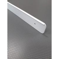Торцова планка для стільниці LUXEFORM права колір RAL9003